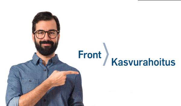 Yrityslainaa nopeasti | Front Kasvurahoitus
